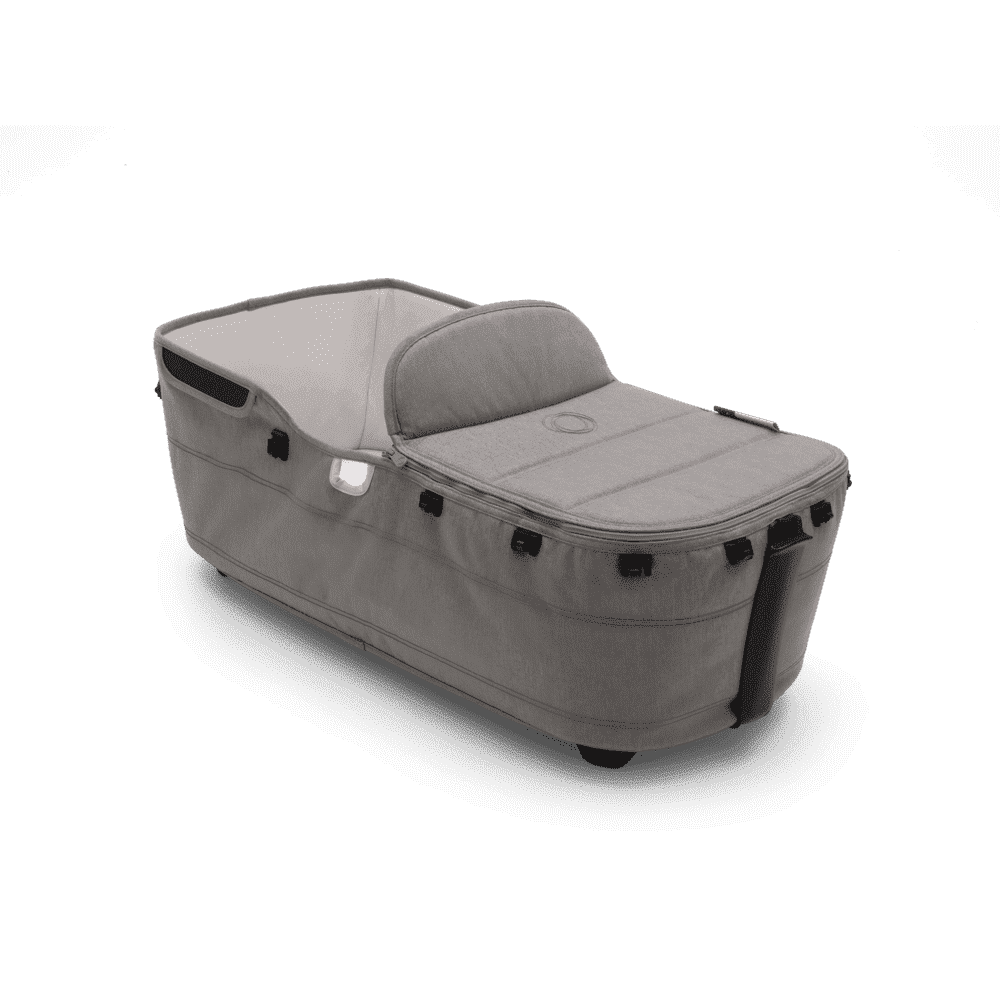 Bugaboo Donkey 2 люлька с фартуком Mineral LIGHT GREY complete