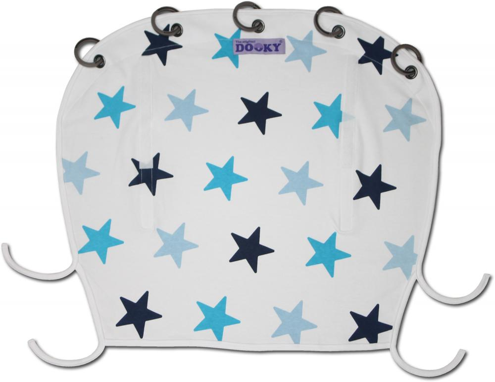 XPLORYS Защитная накидка на коляску и автокресло DOOKY Design цв.Blue Stars