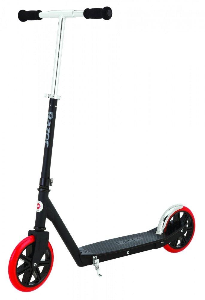 Купить Беговелы, самокаты, велосипеды, электромобили, Razor Самокат Carbon Lux, 7 лет+ чёрный