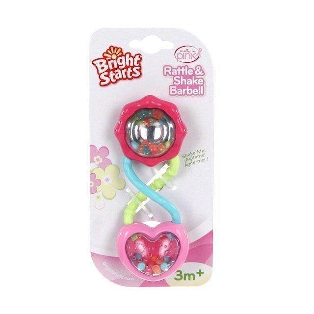 "BRIGHT STARTS развивающая игрушка ""Розовый калейдоскоп"" от olant-shop.ru"