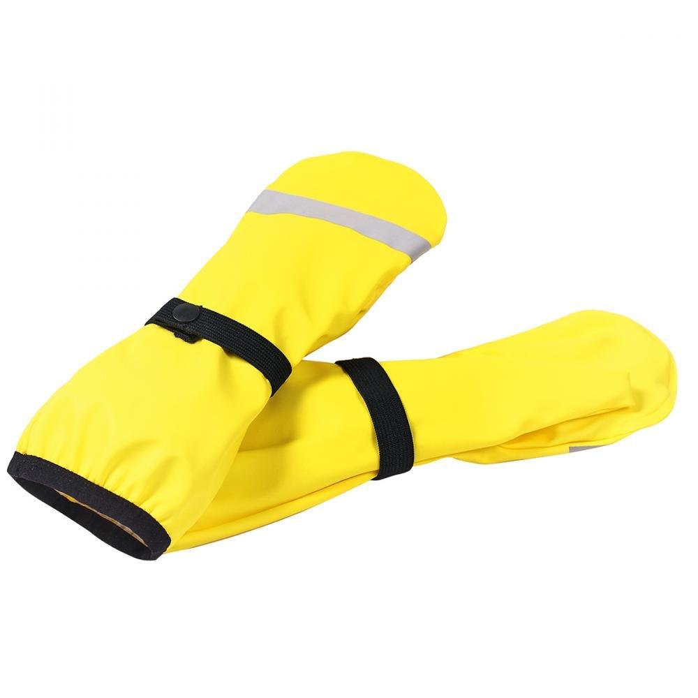 Купить Шапки, варежки, перчатки, REIMA варежки для дождливой погоды Rapa желтые р.5 (6-8 лет)