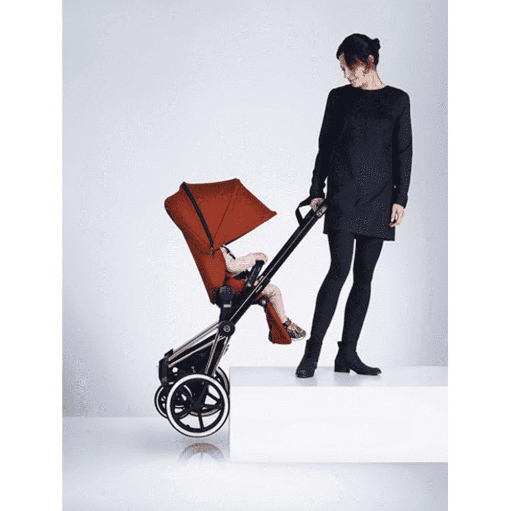 CYBEX Рама для коляски Priam Chrome с колесами All Terrain от olant-shop.ru