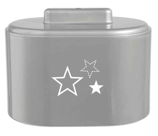 BEBE JOU коробочка  для гигиенических принадлежностей серебро