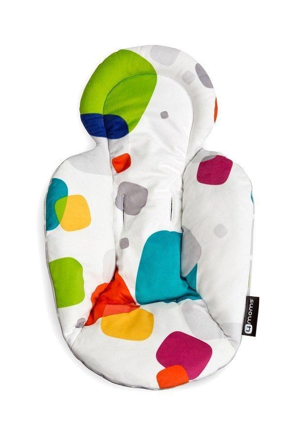 4MOMS Вкладыш для кресла-качалки mamaRoo 3.0/RockaRoo цветной/серый
