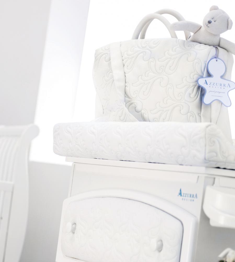 AZZURRA сумка для мамы RINASCIMENTO WHITE