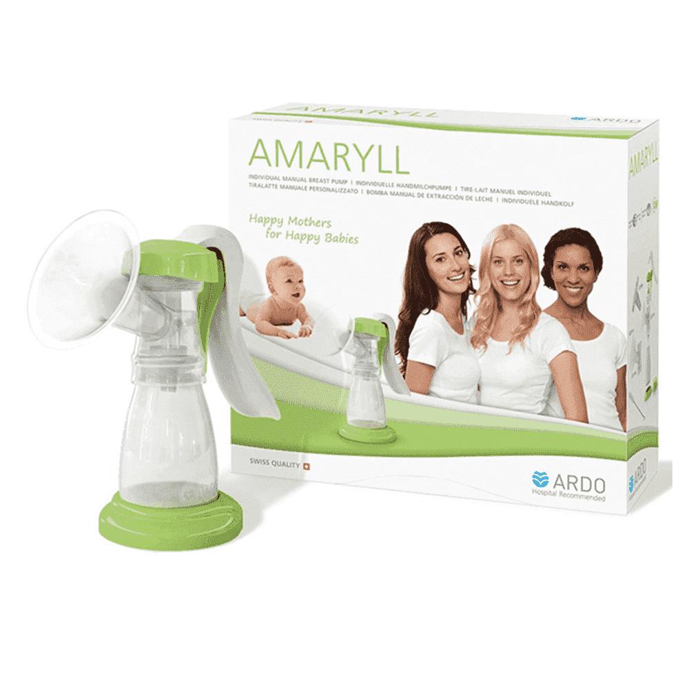 ARDO ручной молокоотсос AMARYLL (премиум комплектация)