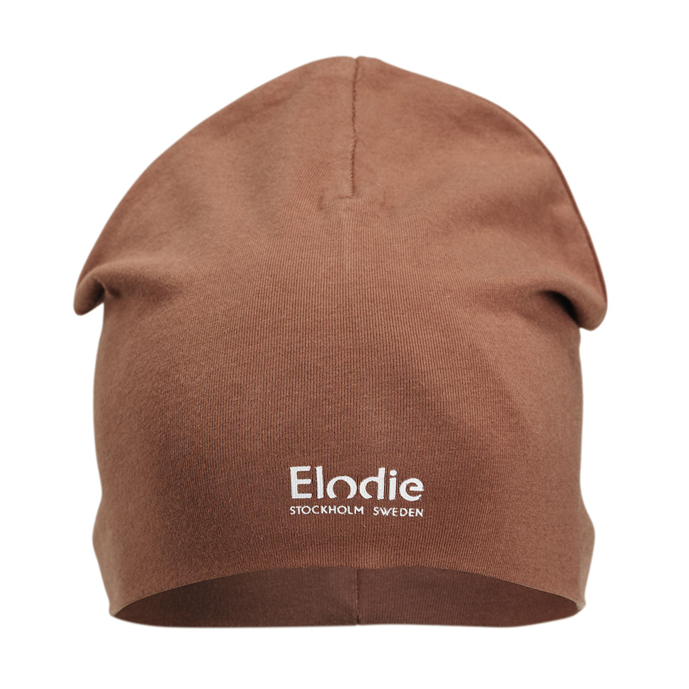 Elodie шапочка Logo Beanies - Burned Clay