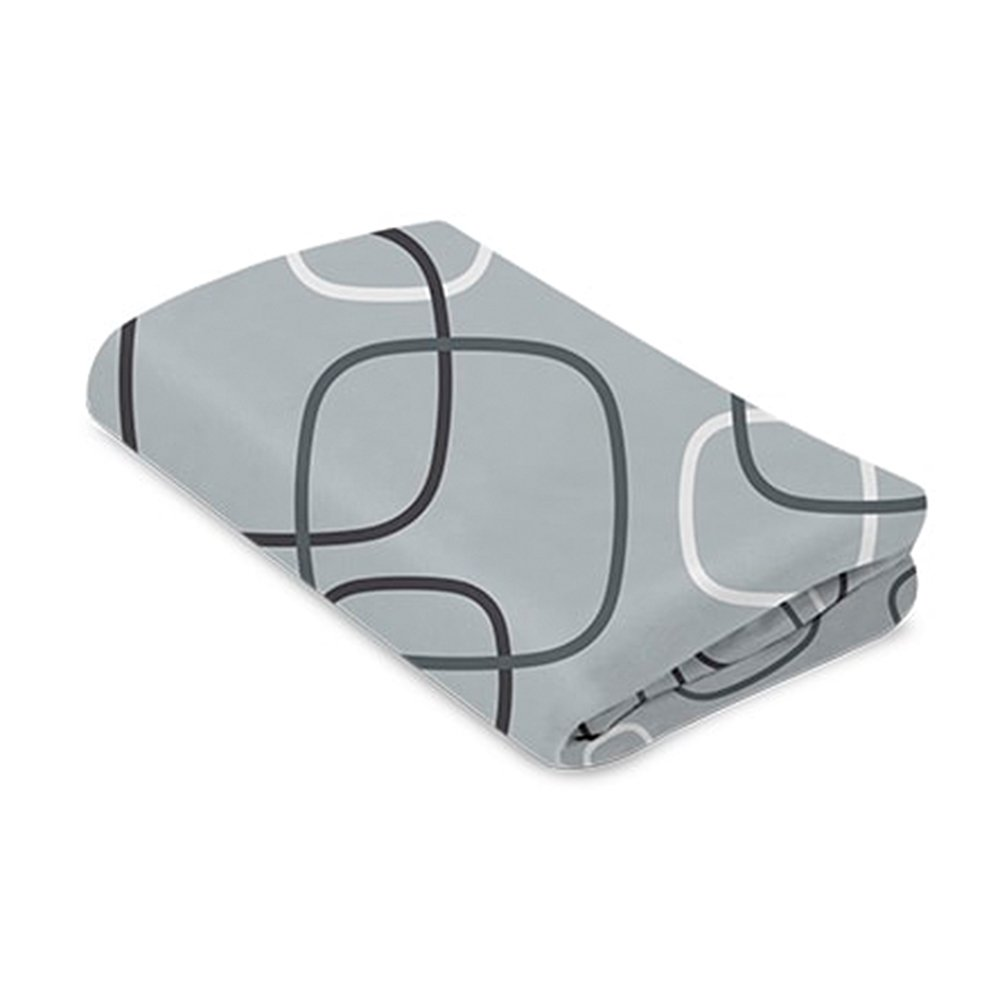 4moms наматрасник для манежа breeze серый плюш нижний уровень