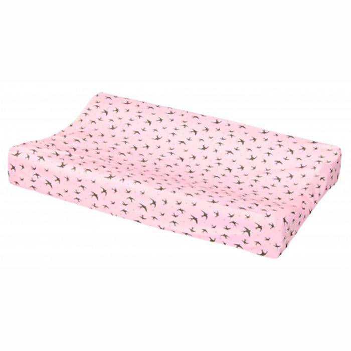 LUMA простынка-чехол 72*44 для пеленальника розовый нежный