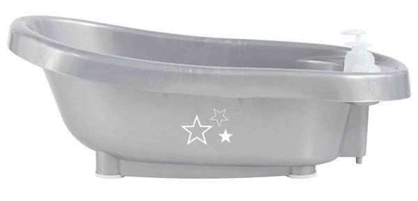 BEBE JOU термо-ванночка для купания серебро
