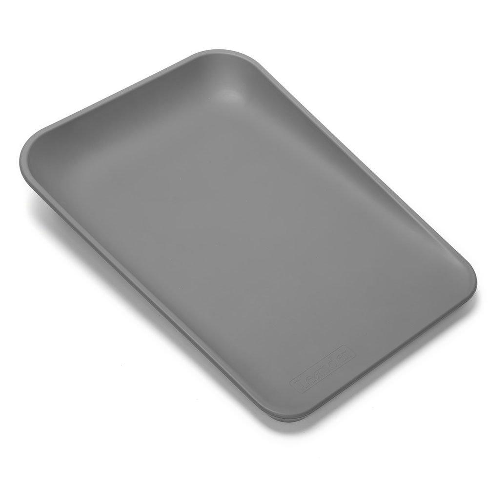 LEANDER пеленальный матрасик серый