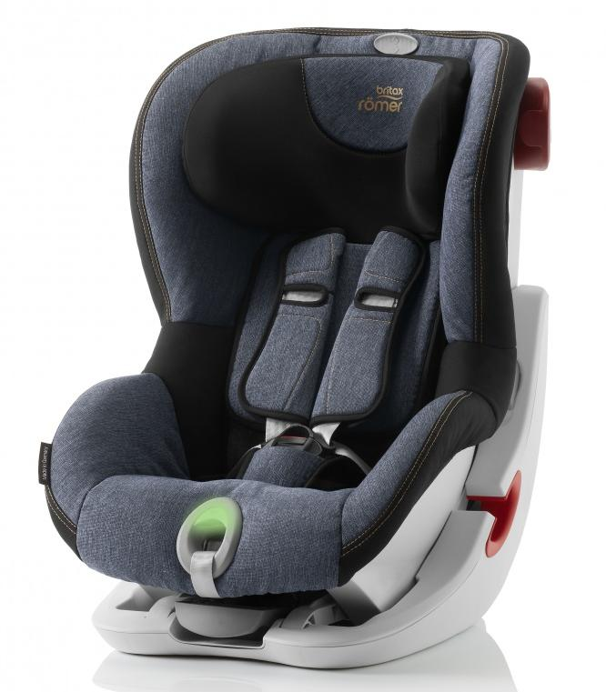 Britax Roemer автокресло KING II ATS Blue Marble (группа 1, от 9 до 18 кг)
