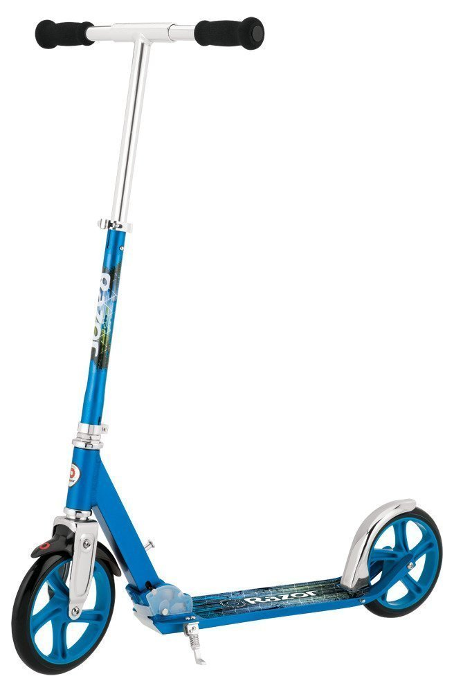 Купить Беговелы, самокаты, велосипеды, электромобили, Razor Самокат A5 LUX, 7 лет+ синий