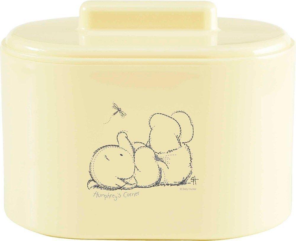BEBE JOU коробочка пластиковая для гигиенических принадлежностей лимон нежный BEBE JOU коробочка  для гигиенических принадлежностей