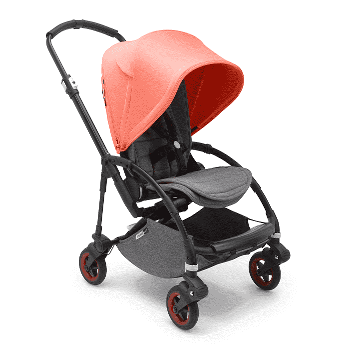 Bugaboo Bee5 complete коляска прогулочная Black/ Coral Limited