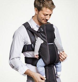 BABYBJORN рюкзак для переноски ребенка  Miracle облегченный черный