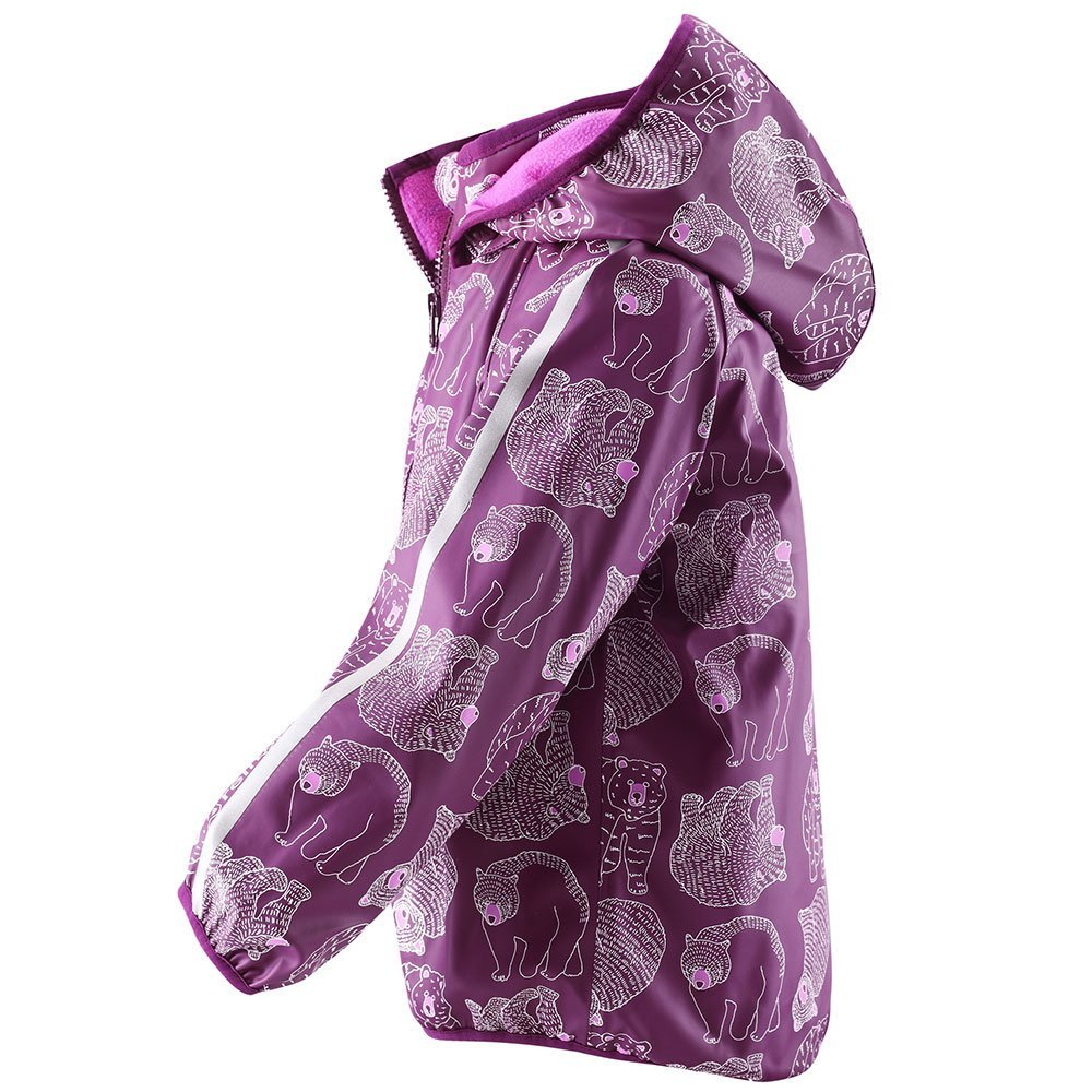 REIMA куртка-дождевик Koski розовая р.86 от olant-shop.ru