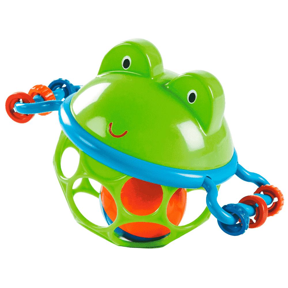 O-BALL развивающая игрушка-мяч «Лягушонок»