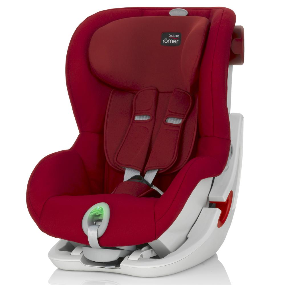BRITAX ROEMER автокресло KING II ATS Flame Red (группа 1, от 9 до 18 кг)