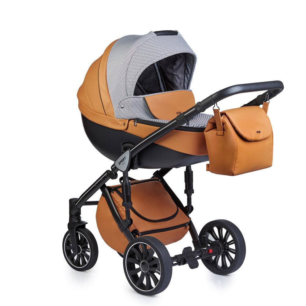 Купить Коляски для новорожденных, ANEX SPORT Коляска 3 в 1 Q1 (Sp14) foxy