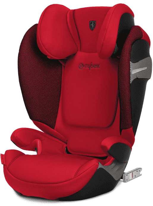 Cybex Автокресло Solution S-Fix Ferrari Racing Red