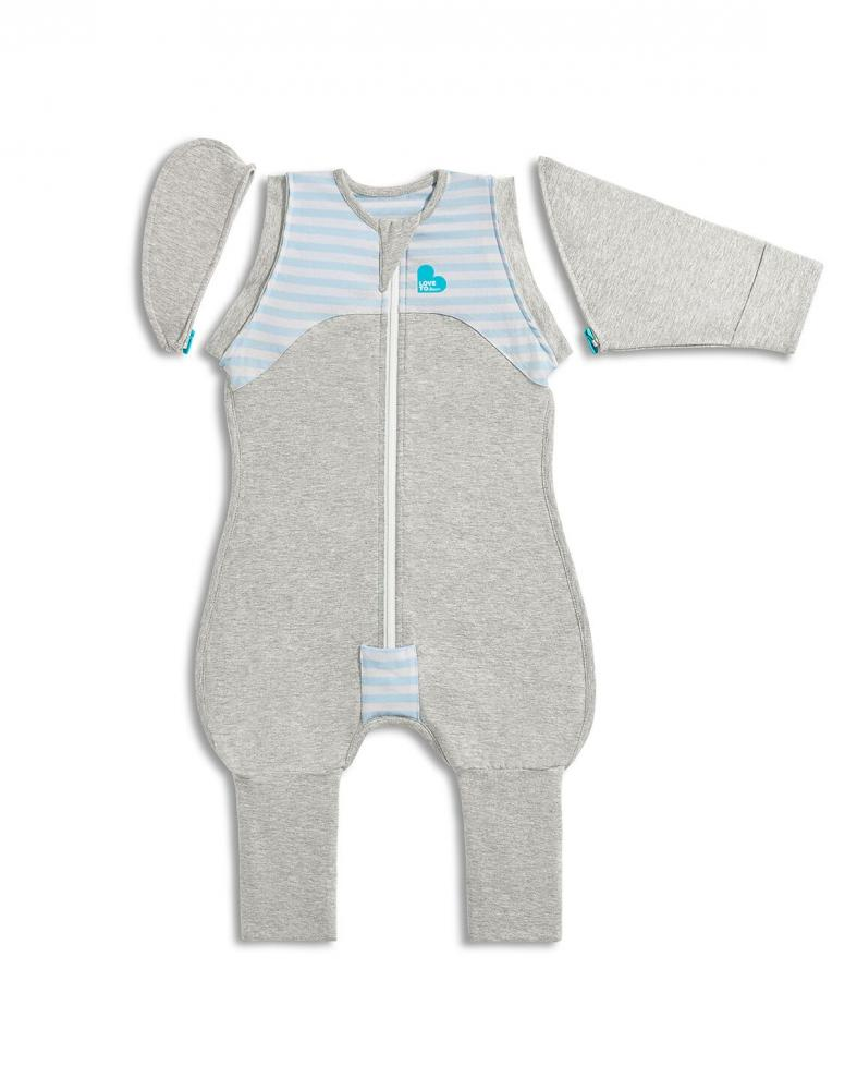 Love To Dream комбинезон спальный Swaddle UP Transition Suit Original Голубой, XL