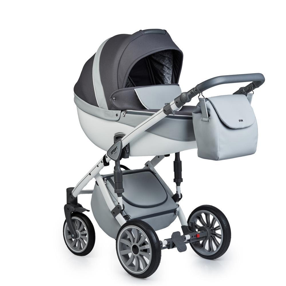 Купить Коляски для новорожденных, ANEX SPORT Коляска 3 в 1 Q1 (Sp15) gray cloud