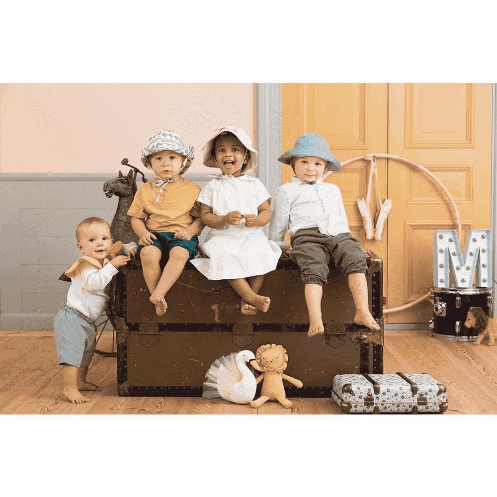 ELODIE DETAILS панама Precious Preppy р. 6-12 мес. от olant-shop.ru