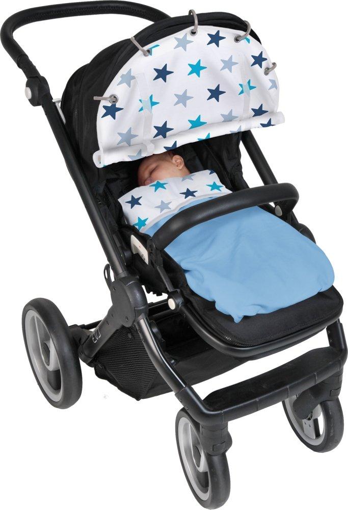XPLORYS Защитная накидка на коляску и автокресло DOOKY Design цв.Blue Stars XPLORYS_накидка на коляску и автокресло (DOOKY- XPLORYS)