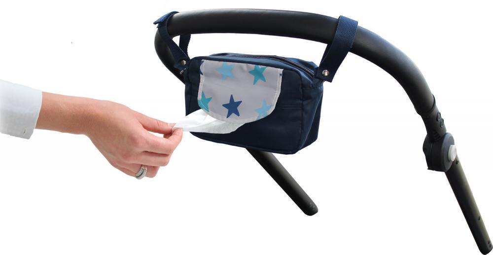 XPLORYS Мини-сумочка DOOKY Travel Buddy цв. Blue Stars