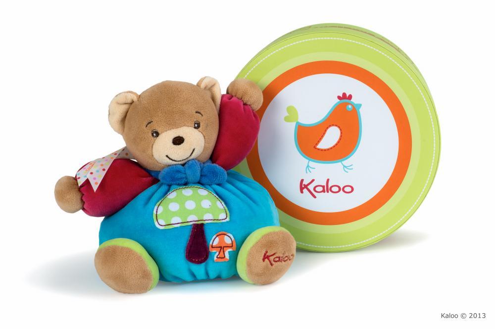 Купить Мягкие игрушки, KALOO Мишка маленький - Грибочек в ассортименте
