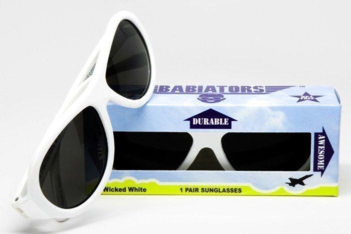 BABIATORS очки солнцезащитные Babiators Original (0-3) Шалун белые