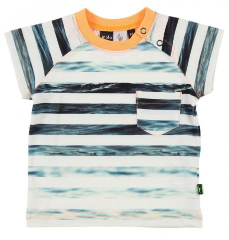 Купить Ползунки, боди, распашонки, слипы, MOLO футболка Eric Sea stripe, р.62-68