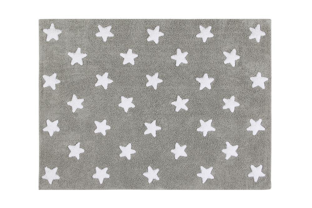Lorena canals ковер звезды stars  (серый с белым) 120*160