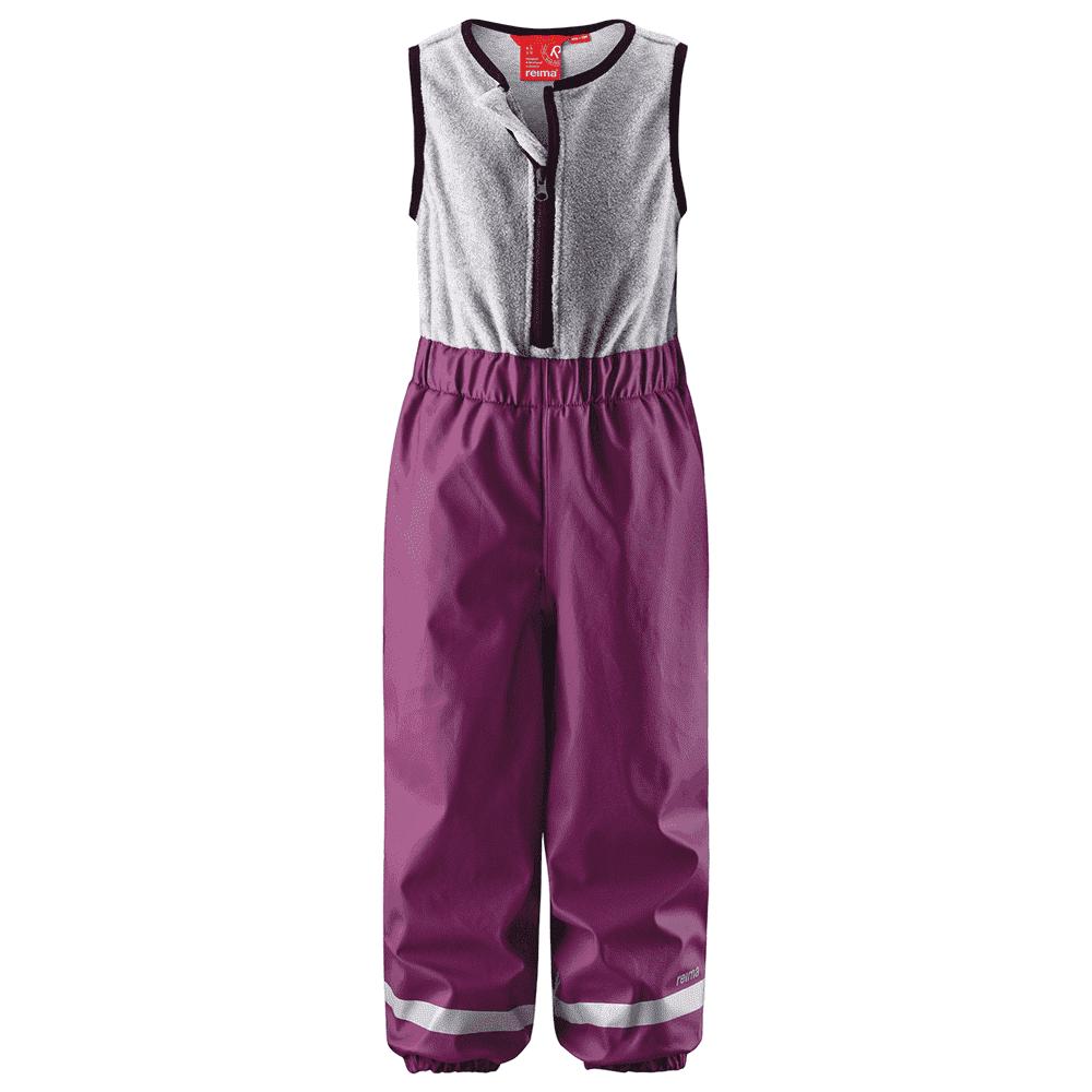 REIMA брюки для дождливой погоды Loiske вишневые р.86