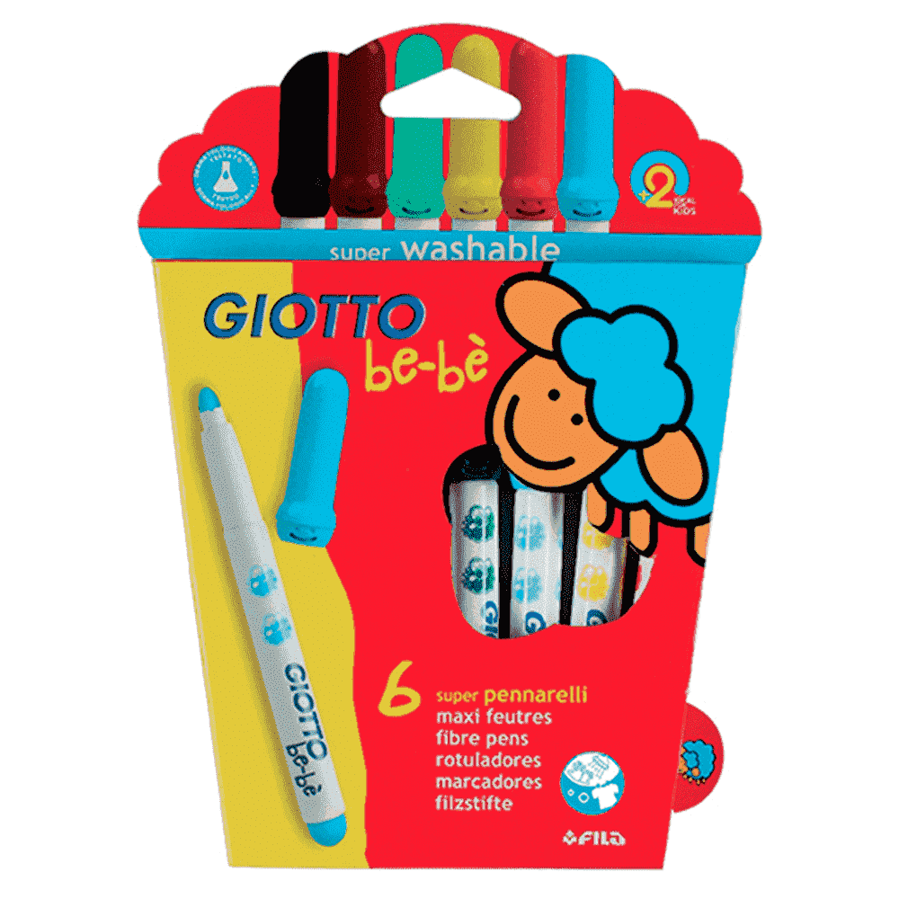 Творчество и младенческая канцелярия GIOTTO BE-BE