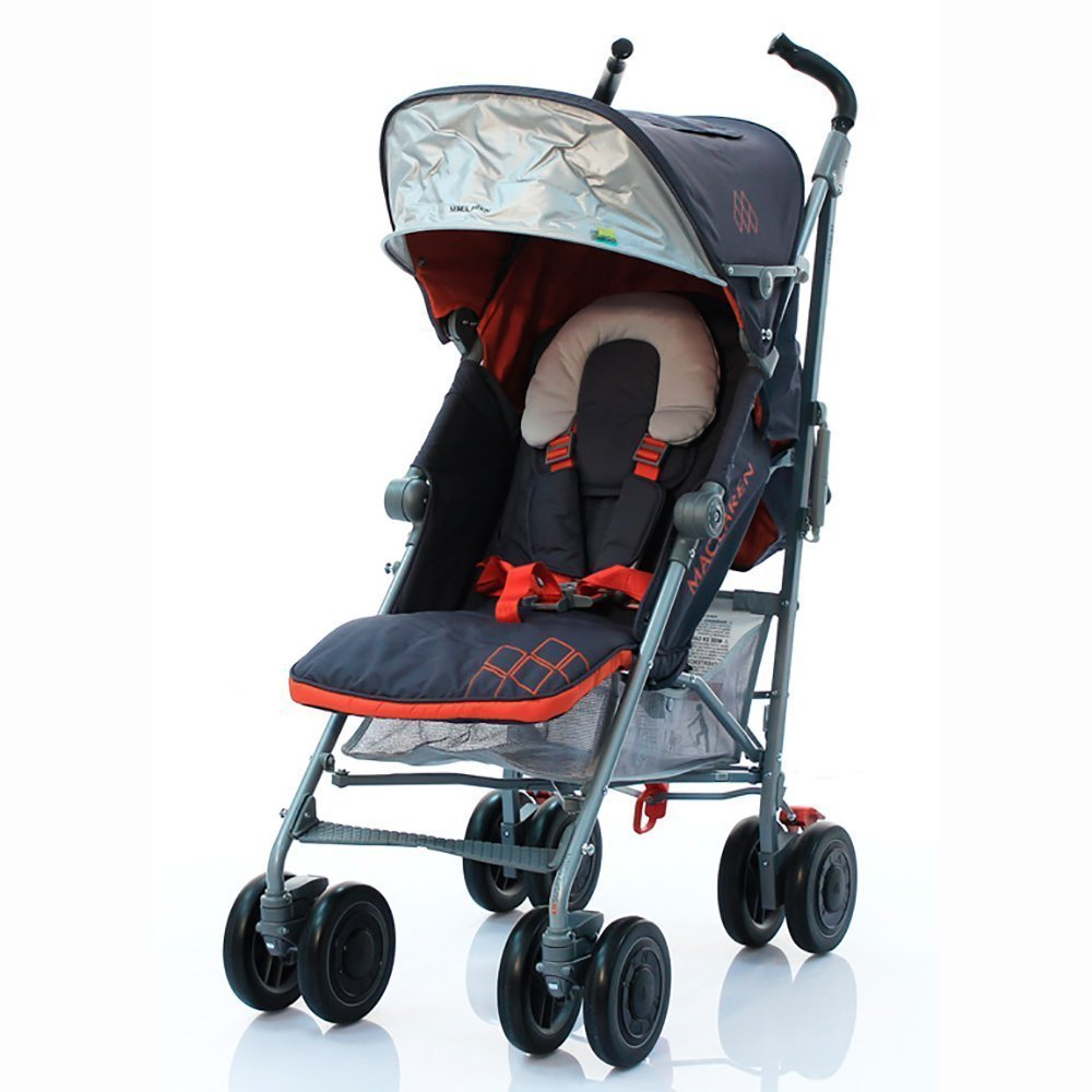 MACLAREN коляска прогулочная TECHNO XT Charcoal/ Marmalade от olant-shop.ru