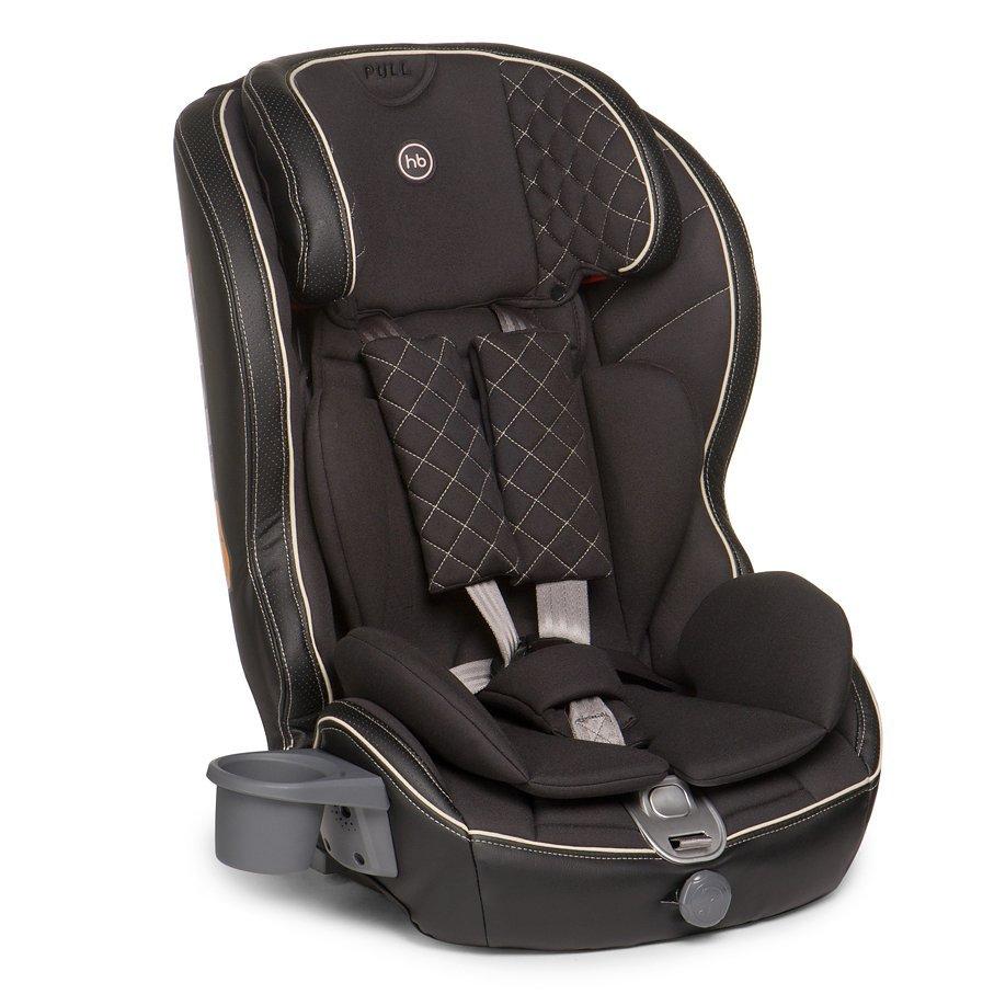 HAPPY BABY Автокресло Mustang Isofix BLACK 4650069780311
