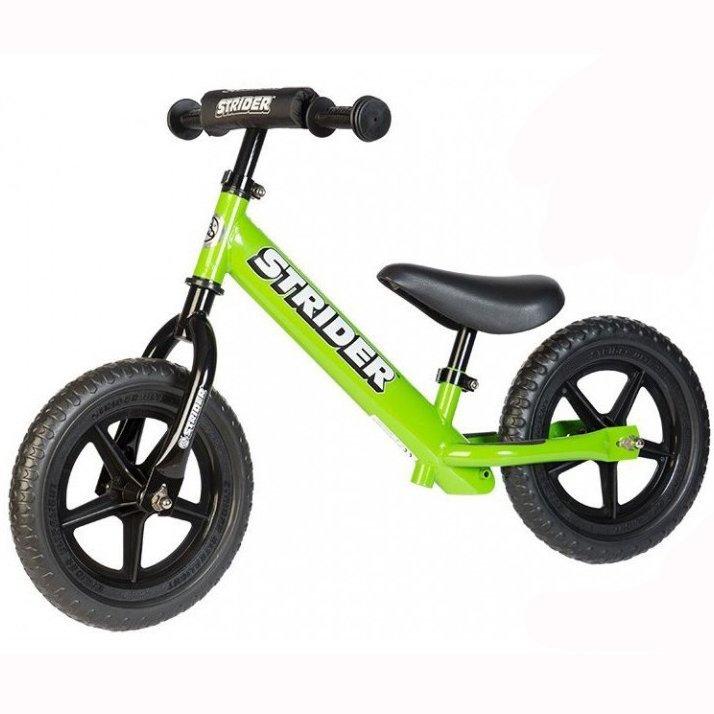 STRIDER беговел 12' Sport зеленый