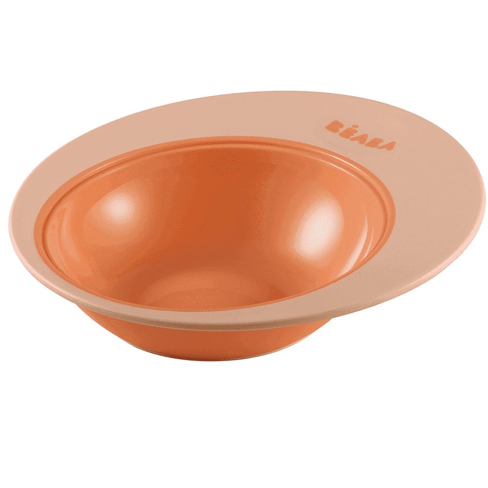 BEABA тарелка TRAINING PLATE ELLIPSE NUDE