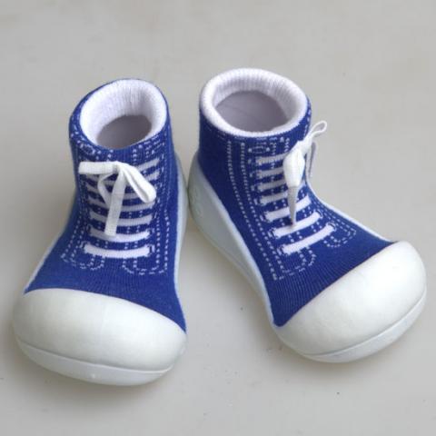 ATTIPAS обувь Sneakers синий, р. S (3-6мес.)