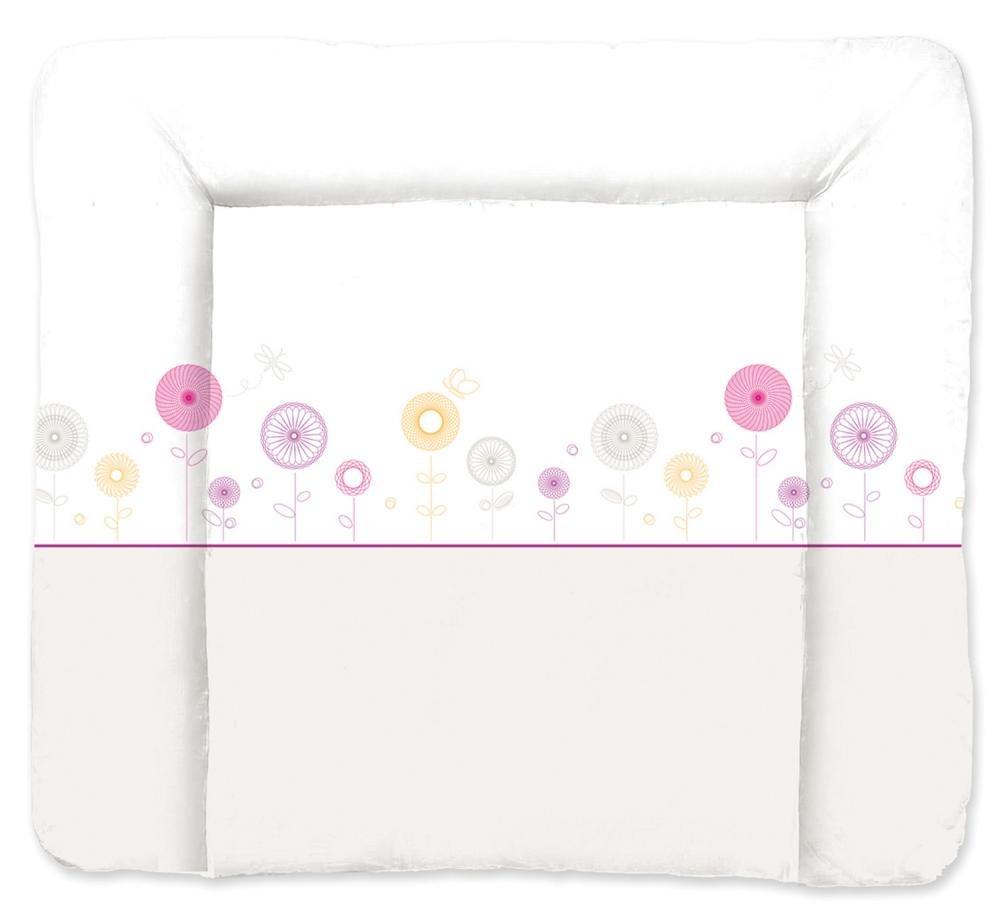 TRAUMELAND матрасик для пеленания Flowers Lila 75х85 см.