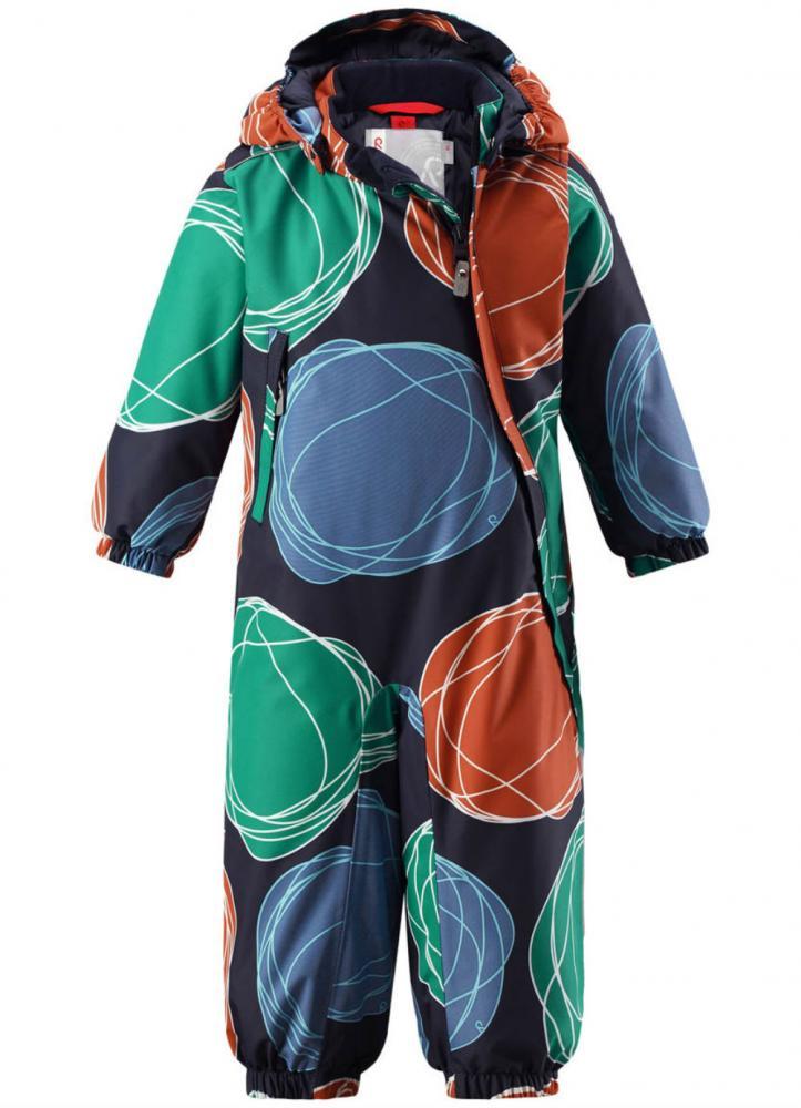 Купить Верхняя одежда для зимы, REIMA комбинезон Reimatec LOSKA синий с оранжевым р.92