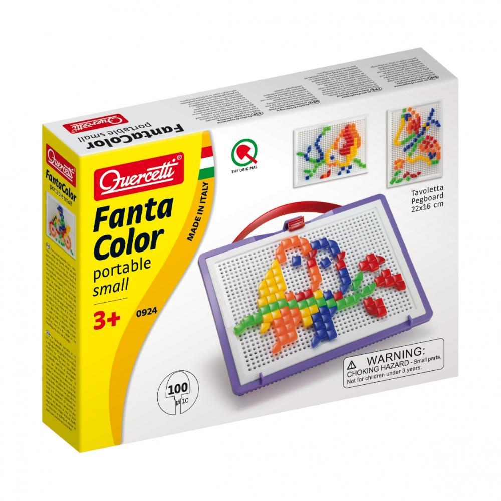 """QUERCETTI Мозаика """"Фантастические цвета"""" 100 деталей (треугольные и квадратные)"""