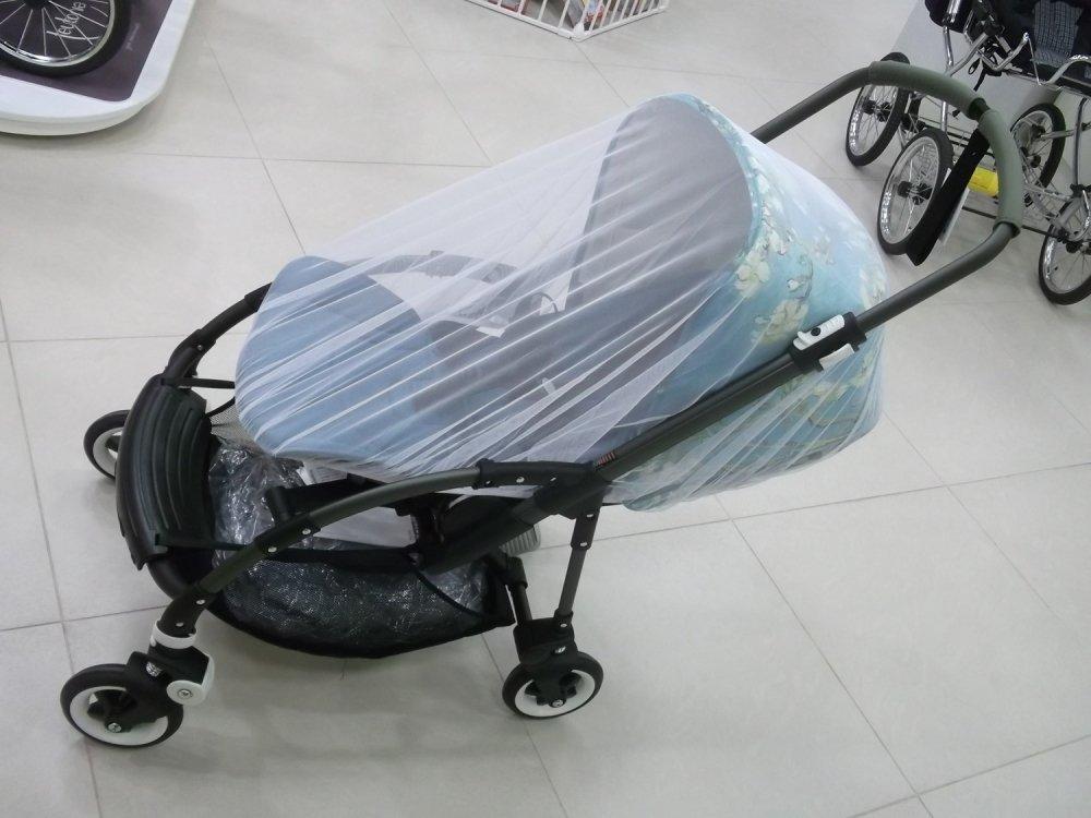 SEVI BABY сетка москитная для прогулочной коляски цв. голубой