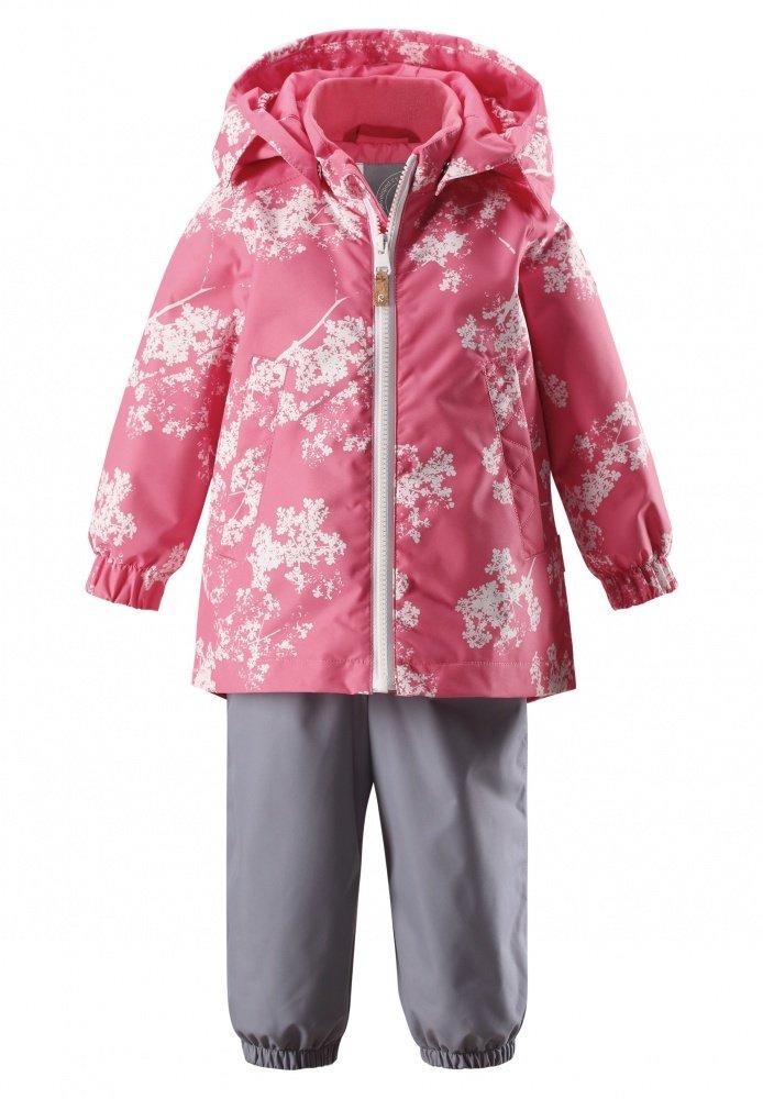 Купить Одежда для весны и осени, REIMA Комплект:куртка+брюки Reimatec NUOTTI серый с розовым р.92