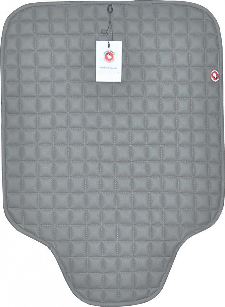 Baby smile коврик с квадратным рисунком серЫй без доп. защиты