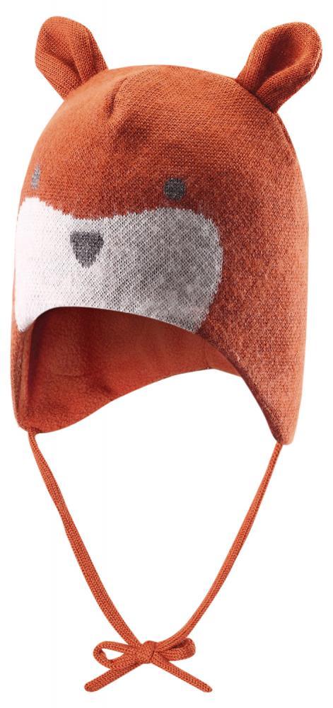 REIMA шапка шерстяная Kompis рыжая лисичка р.46 518326-2840-046