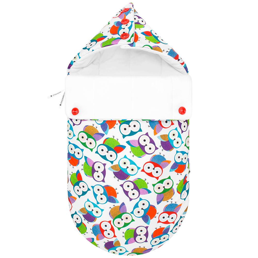 MIKKIMAMA Конверт для новорожденного Цветные сны (зимний) (МИККИМАМА)