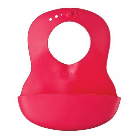 HAPPY BABY  Нагрудник пластиковый red